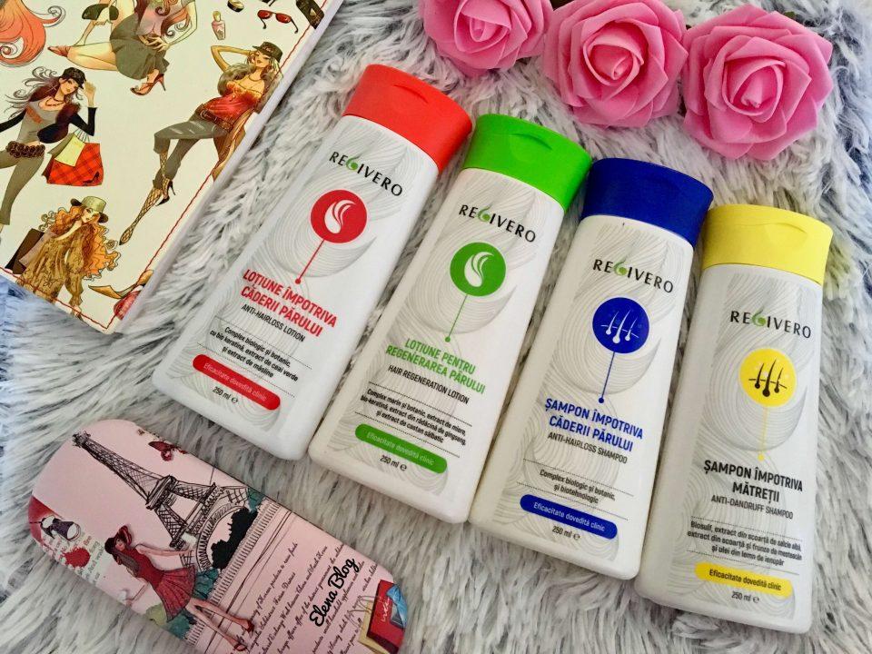 Rutina de îngrijire a părului cu produse Regivero