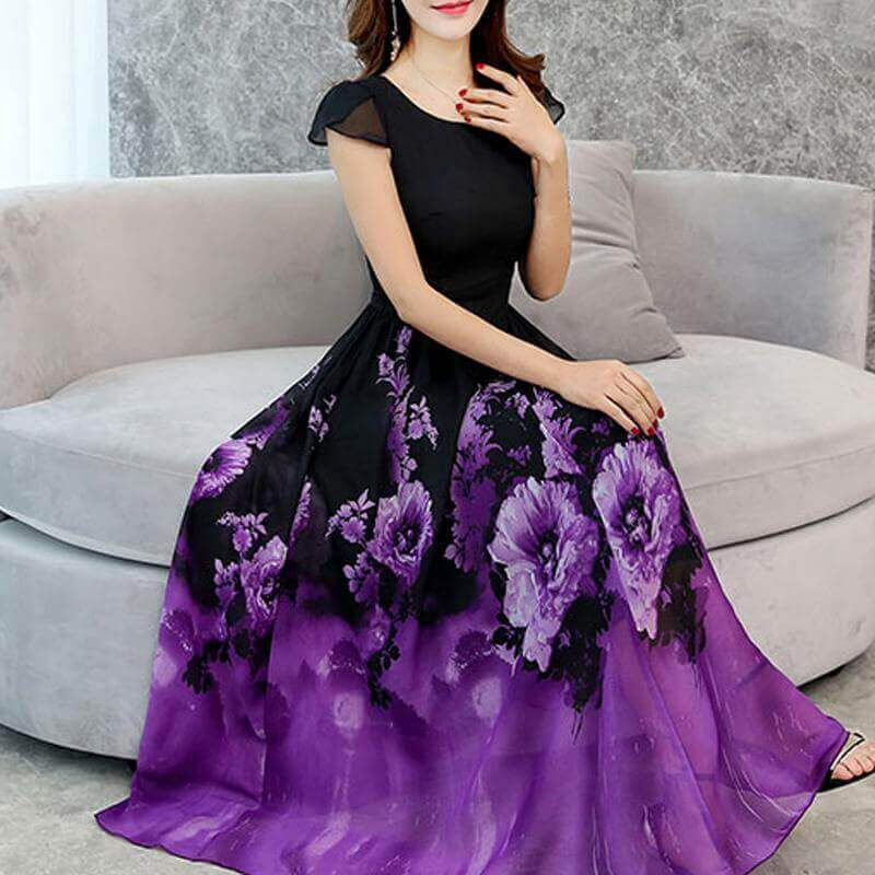 rochie eleganta cu model deosebit