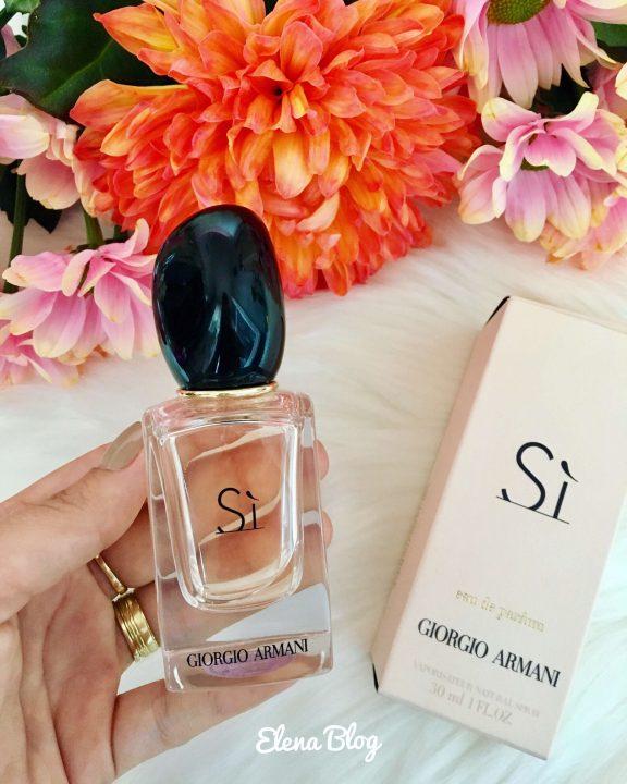 Merită cumpărat parfumul Armani Sì de la Notino?