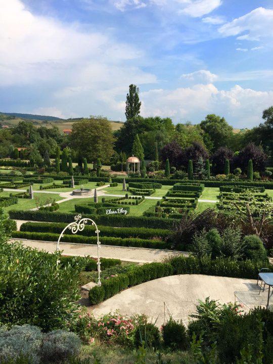 grădina aristrocrată de la Banpotoc