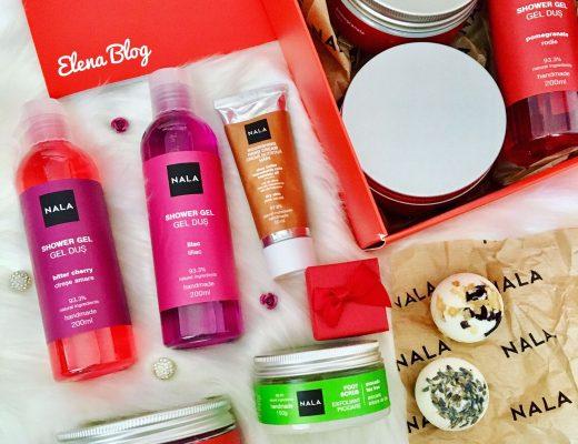 Rutina de îngrijire a corpului cu produse cosmetice naturale de la Nala