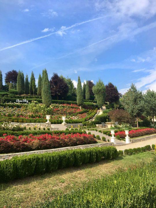 grădină aristocrată din România