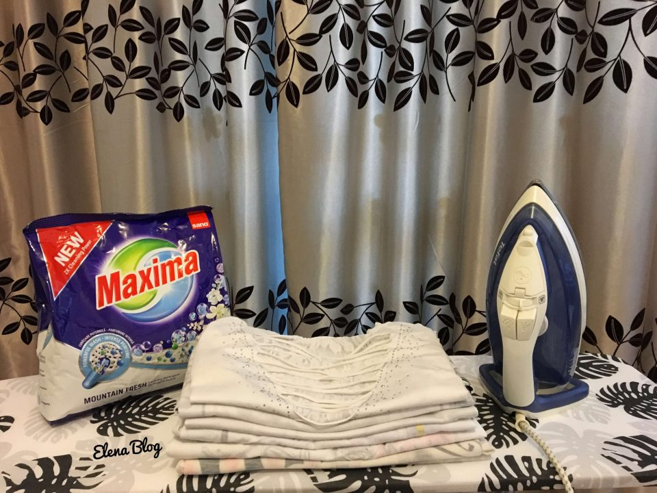 Cum se folosește corect detergentul pudră Sano Maxima?