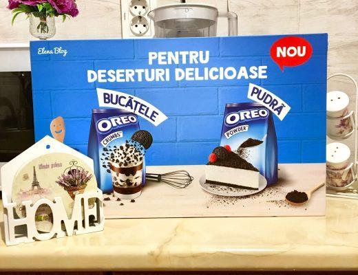 Milkshake delicios și răcoritor cu Oreo Crumbs