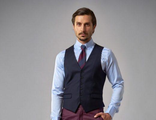 Veste elegante barbati