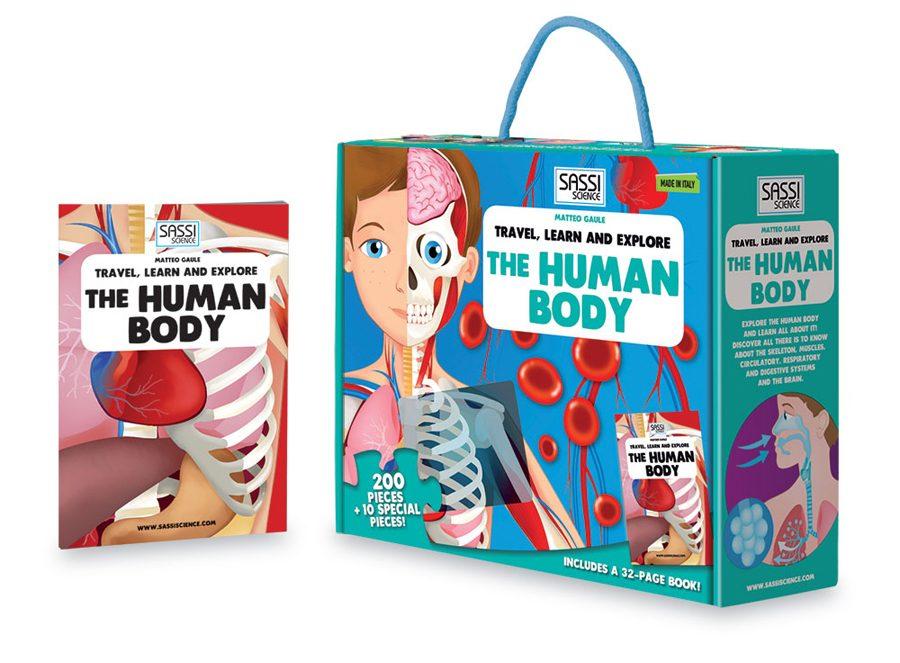 Joc educativ - descoperă corpul uman
