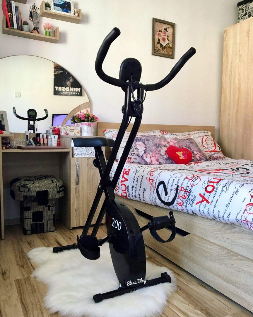Bicicleta fitness pliabila XB200 - avantaje
