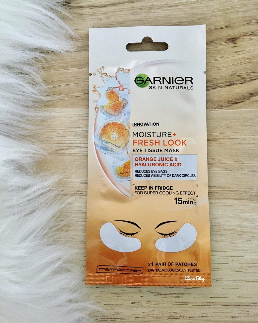 mască răcoritoare pentru ochi